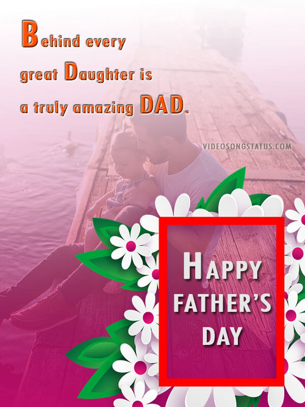 Awesome Images Quote For Happy Fathers day