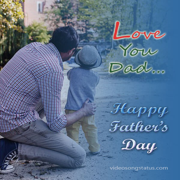 Love You Dad Images Status