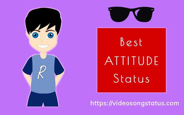Attitude Whatsapp status in Hindi & English 2019