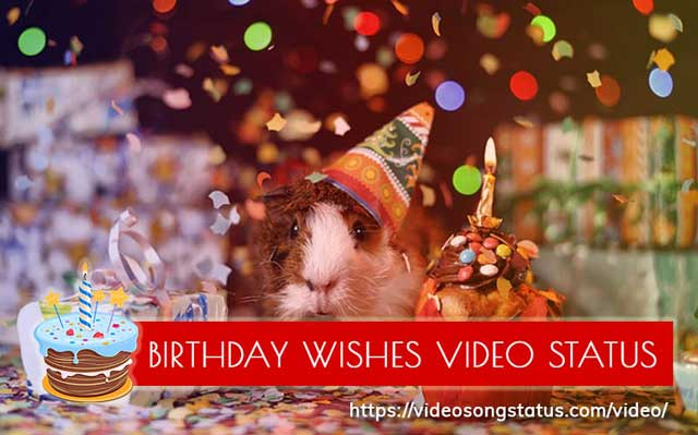 Happy Birthday Wishes Whatsapp Status Videos