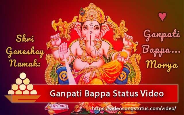 Happy Ganesh Chaturthi Whatsapp Status Video