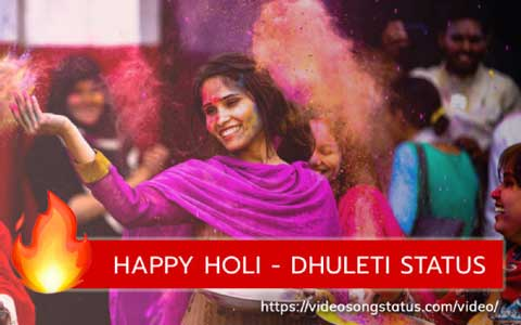 Happy Holi Whatsapp Status Video