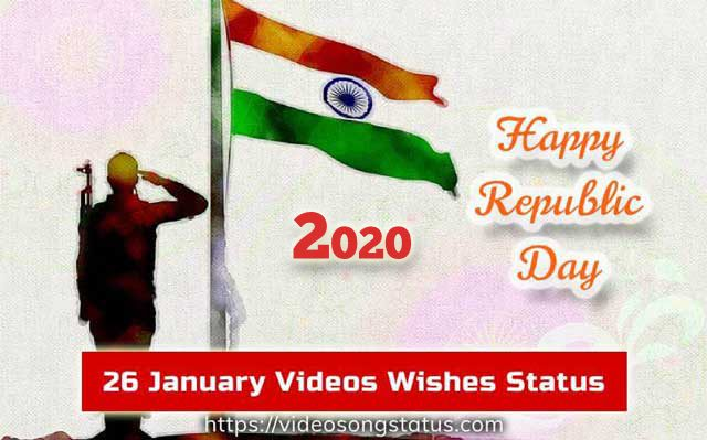 Happy Republic Day Status Video Download for Whatsapp | Best 26 January Status 2020 and Images