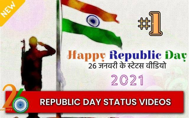 Happy Republic Day Special Status Video 2021 in Hindi, Gujarati, English - Image