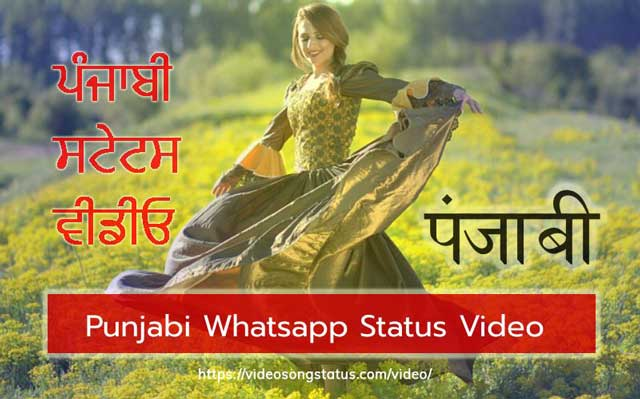 Punjabi Whatsapp Status Video