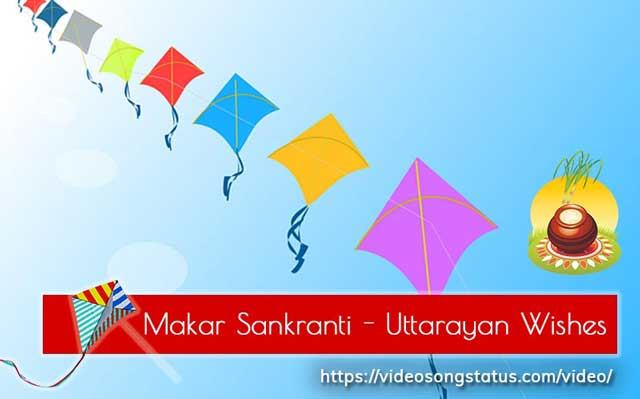 Makar Sankranti Whatsapp Status Video