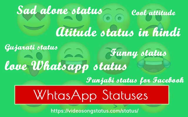 Best Whatsapp Text Status Collection in Hindi, Gujarati, and English