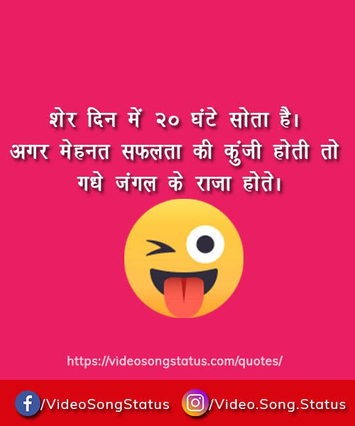 Sher din me 20 ghante sota he - funny quote