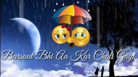 Barsaat Bhi Aakar Good Status In Hindi