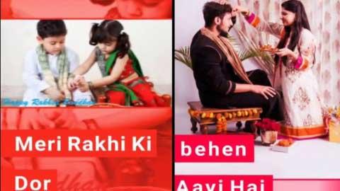 Happy Rakhi Day Status Video