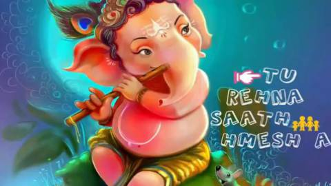 O My Friend Ganesha Cute Baby Status Video