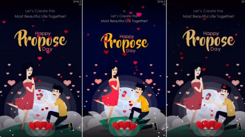 Full Screen Propose Day Special Whatsapp Status Download