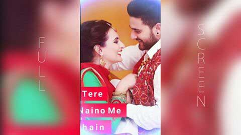 Teri Aankhon Mein Jannat Full Screen Status Download