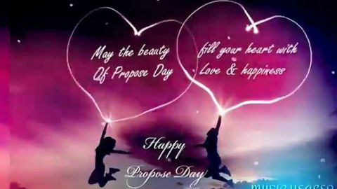Happy Propose Day Video Status Of Fill Love Happiness