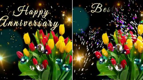 Marriage Anniversary Whatsapp Status Video Download Of Blessings