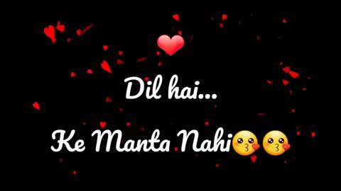 Dil Hai Ke Manta Nahin Sad Status Video