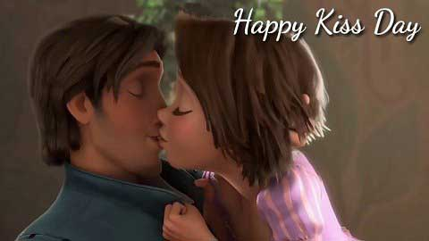 Kiss Day Animated Video Status In Hindi Dialogues