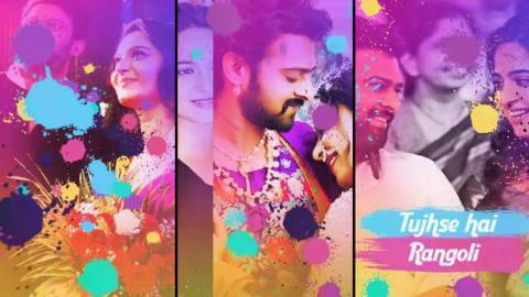 Happy Holi Status In Hindi Ft Prabhas Full Screen