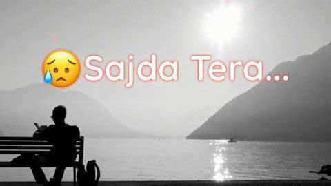 Sajda Tera Love Hindi Status