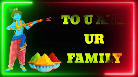 Awesome Holi Wishes Status Video For Friends And Family