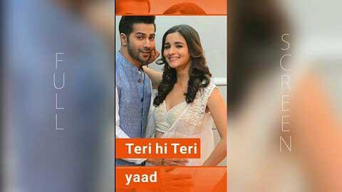 Dekhu Tujhe To Pyar Aaye Full Screen Status