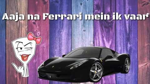 Aaja Na Ferrari Me Dance Video Whatsapp Status