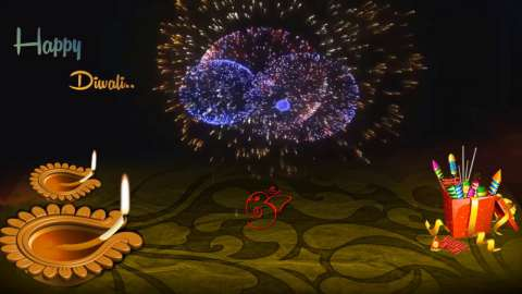 Wish You Happy Diwali To You And Your Family Video Status