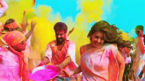 Colorful Happy Holi Wishes Whatsapp Video Status