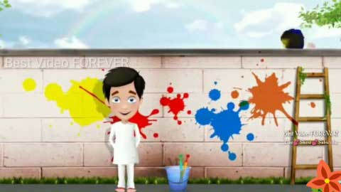 Coulorful Funny Whatsapp Holi Status Download