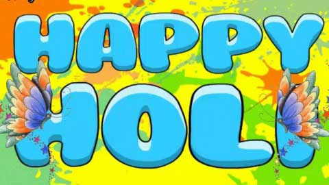 Latest Happy Holi Greetings Message Status In English