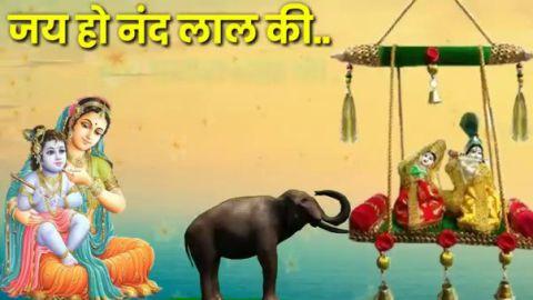 New Krishna Song Status Video Jai Kaniya Lal Ki