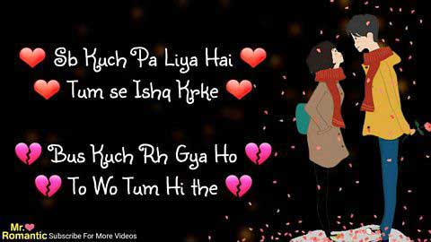 Love - Shayri Hindi Video Status For Whatsapp