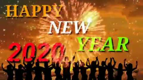 Happy New Year 2020 New Year Dance Whatsapp Status