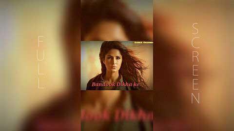 Afghan Jalebi - Remix Full Screen Video Status