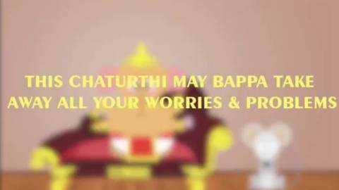 Animated Ganesha Video Status Message