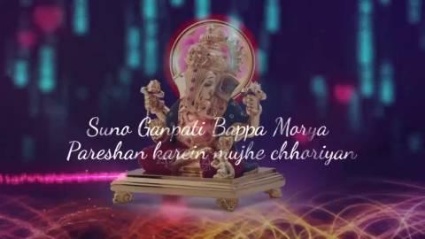 Suno Ganapati Bapa Morya Song Status Video
