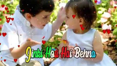 Best Funny Raksha Bandhan Status Video Of Brother And Sister