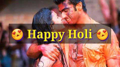 Happy Holi Love Status