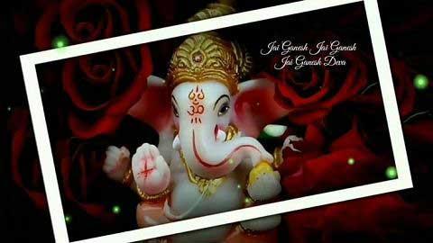 Ganesha Aarti - Video status female