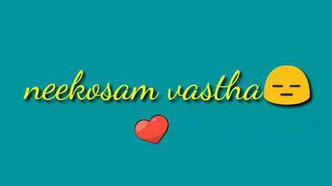 Neekosam Vastha Bichagaadu Telugu Status Video