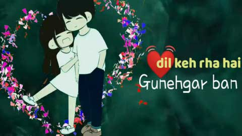 Wajah Tum Ho Cute Love Status Hindi