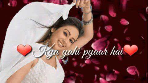 Kya Yehi Pyar Hai - Video status bollywood