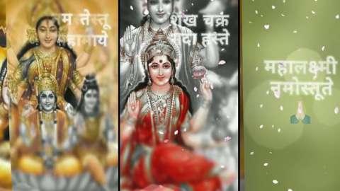 Happy Dhanteras Mantra Full Screen Status