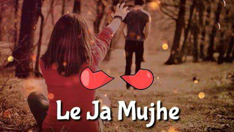Le Ja Mujhe Saath Tere Sad Status Video