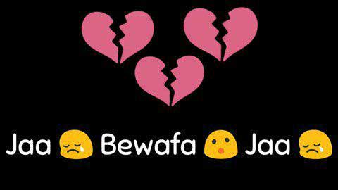 Jaa Bewafa Jaa Sad Status Video
