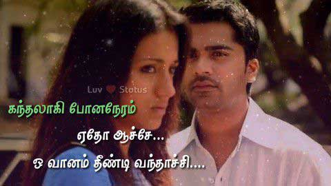 Tamil - Love Antha Neram Luv Whatsapp Status