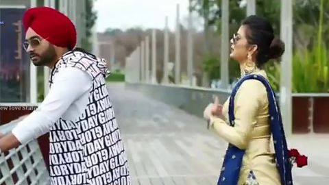 Punjabi Love Couple Happy Rose Day Special Whatsapp Status For Valentine Day