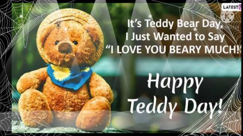 Most Lovely Happy Teddy Bear Day Status Video Download