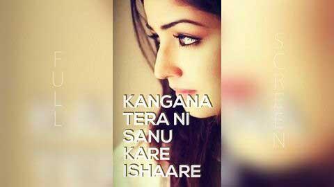 Kangana Tera Ni - Punjabi Female Version Status