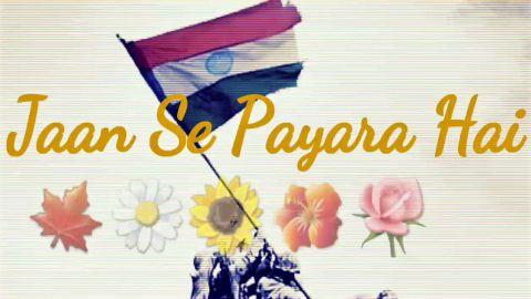 Bharat Humko Jaan Se Pyara Hai Nice Hindi Patriotic Song